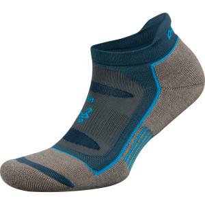 Balega Blister Resist No Show Running Socks - Mink/Legion Blue