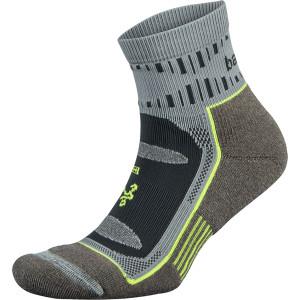 Balega Blister Resist Quarter Length Running Socks - Mink/Gray
