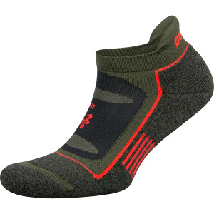 Balega Blister Resist No Show Running Socks - Green Pepper