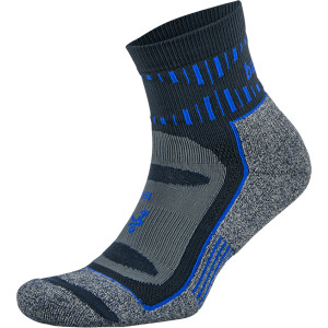 Balega Blister Resist Quarter Length Running Socks - Ink/Cobalt