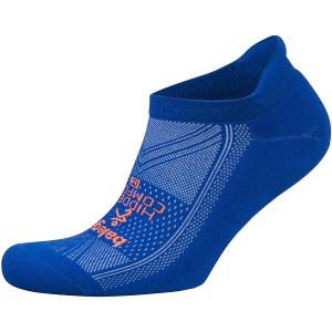 Balega Hidden Comfort No Show Running Socks - Neon Blue