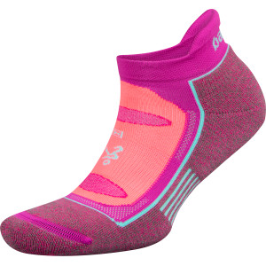 Balega Blister Resist No Show Running Socks - Lilac Rose/Electric Pink