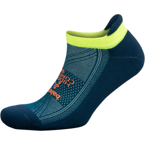 Balega Hidden Comfort No Show Running Socks - Legion Blue/Teal