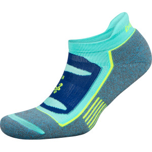 Balega Blister Resist No Show Running Socks - Ethereal Blue/Light Aqua