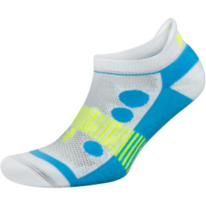 Balega Kids Hidden Cool 2 No Show Running Socks - White/Blue