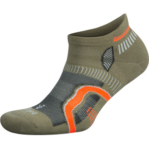Balega Hidden Contour No Show Running Socks - Aloe/Fog