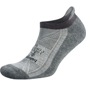 Balega Hidden Comfort No Show Running Socks - Midgray/Carbon