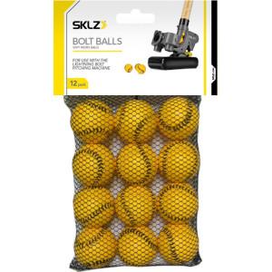 SKLZ Bolt Balls Soft Micro Training Balls - 12 Pack - Yellow