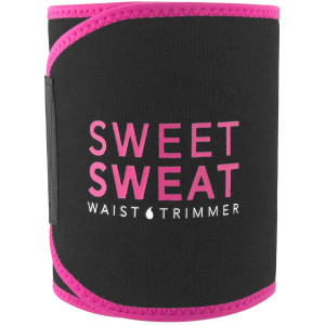 Sports Research Sweet Sweat Waist Trimmer Belt - Pink