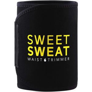 Sports Research Sweet Sweat Waist Trimmer Belt - Yellow