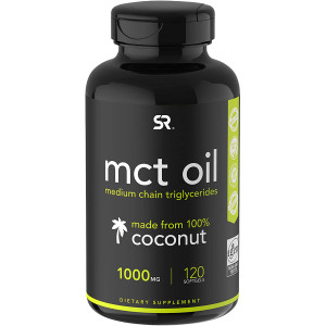 Sports Research MCT Oil Dietary Supplement - 120 Softgels