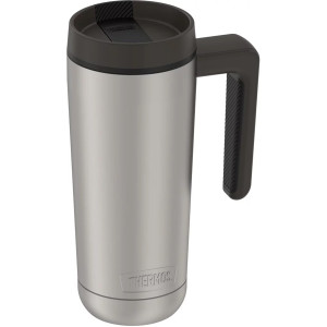 Thermos 18 oz. Vacuum Insulated Stainless Steel Mug - Matte Steel/Espresso Black