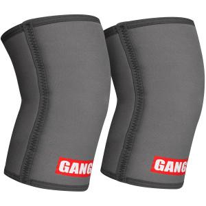 Sling Shot Gangsta Knee Sleeves by Mark Bell - Gray