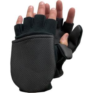 Glacier Glove Alaska River Series Flip Mitts - Black
