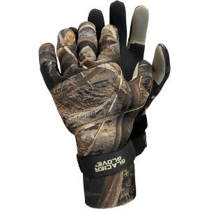 Glacier Glove Bristol Bay Full Finger Gloves - Realtree Max-5