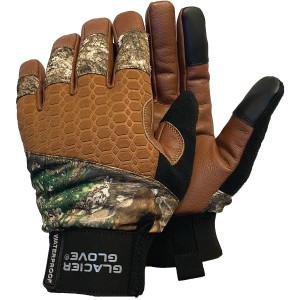 Glacier Glove Alaska Pro Full Finger Gloves - Realtree Edge
