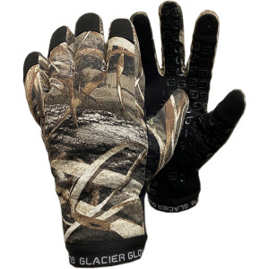 Glacier Glove Alaska Pro Full Finger Gloves - Realtree Max-5