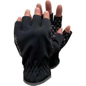 Glacier Glove Cold River Fingerless Softshell Gloves - Black