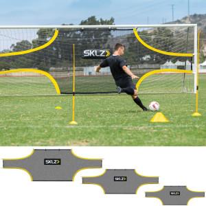 SKLZ Soccer Training Goal Shot - Black/Yellow