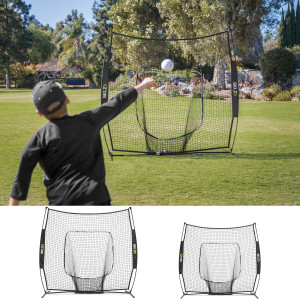 SKLZ Baseball and Softball Hitting Net - Black/Yellow