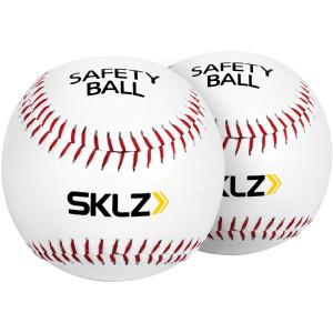 SKLZ Safety Training Baseballs 2-Pack - White