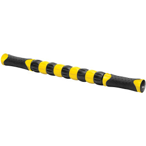 SKLZ Muscle Roller Handheld Massage Stick - Black/Yellow