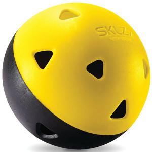 SKLZ Mini Impact Training Baseballs 12-Pack - Black/Yellow