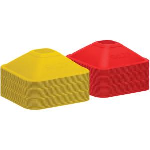 SKLZ Mini Training Cones 50-Pack - Red/Yellow