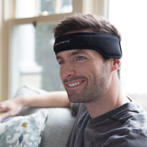 Intellinetix Vibrating Headache Band - Relief from migraines and sinus pain