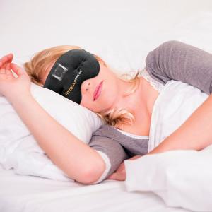 Intellinetix Vibrating Therapy Eye Mask, Universal, Headache & Sinus Pain Relief