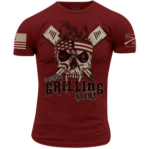 Grunt Style This Is My Grilling Shirt T-Shirt - Cardinal