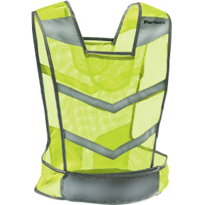 Perfect Fitness Reflective Safety Vest - Yellow