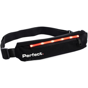 Perfect Fitness LED Safety Slim Pack - Black