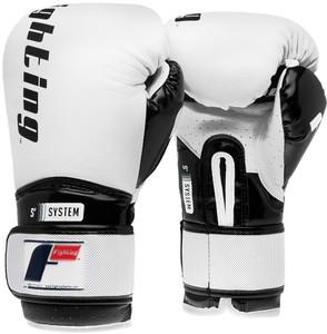 Fighting Sports S2 Gel Boxing Power Training Gloves - White/Black