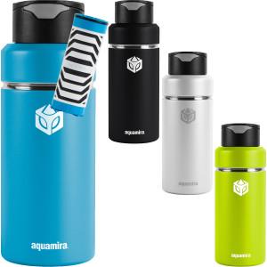 Aquamira 32 oz. Shift Stainless Steel Filter Water Bottle