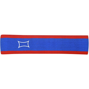 Sling Shot Hip Circle Resistance Band by Mark Bell - Blue/Red  -warm-up support