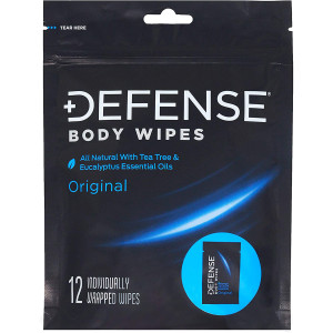 Defense Soap All Natural Hypoallergenic Body Wipes - 12 Wipes