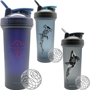 Blender Bottle Special Edition Classic 28 oz. Oceanic SpoutGuard Shaker