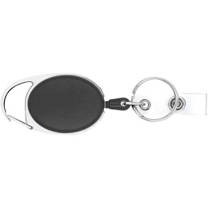 Keysmart Quick Retract Keychain - Black