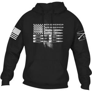 Grunt Style Ammo Flag Pullover Hoodie - Black