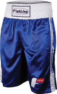 Fighting Sports Pro Stock Boxing Trunks - Blue/White
