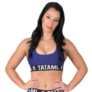 Tatami Fightwear Women's Minimal Sports Bra - Navy