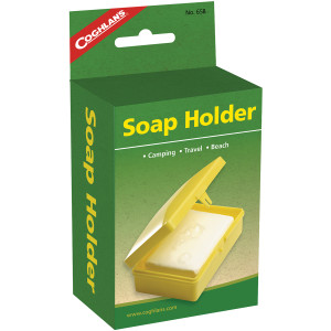 Coghlan's Soap Holder, Camping Travel Plastic Caddy Box, Unbreakable Container