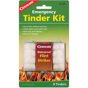 Coghlan's Emergency Tinder Kit (8 Pack), Survival Waterproof Flint Striker Fire