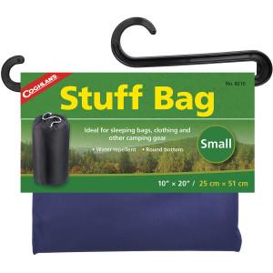 "Coghlan's Stuff Bag, 10"" x 20"", Sack Pouch Sleeping Camping Clothing Storage"
