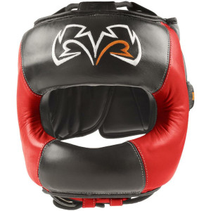 RIVAL Boxing RHGFS1 Face-Saver Training Headgear - Black/Red