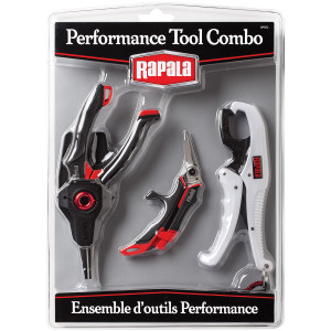 Rapala Performance Tool Combo Pack (Pliers, Scissors, Gripper)