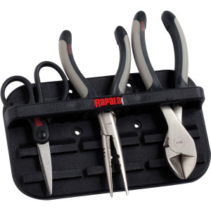 Rapala Magnetic Tool Holder and Tools Combo Pack (Side Cutter, Scissors, Pliers)