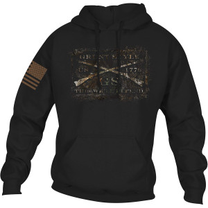 Grunt Style Realtree Edge Full Grunt Style Logo Pullover Hoodie - Black
