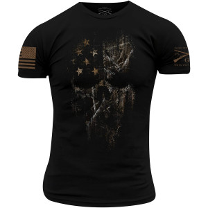 Grunt Style Realtree Edge American Reaper T-Shirt - Black